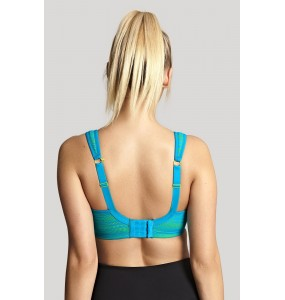 Panache Wired Sport Bra teal/lime