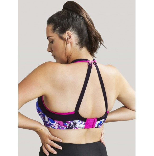 Panache N-Padded Sports Bra liquid waves